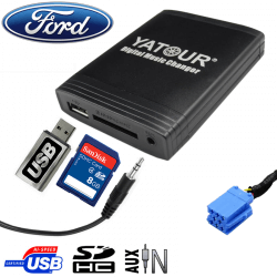 Interface USB MP3 FORD - connecteur 8pin
