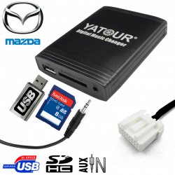 Interface USB MP3 MAZDA
