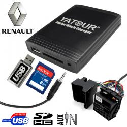 Interface USB MP3 RENAULT Quadlock