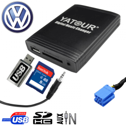 Interface USB MP3 VOLKSWAGEN - connecteur 8pin