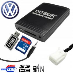 Interface USB MP3 VOLKSWAGEN - connecteur 12pin