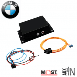 Interface auxiliaire BMW - autoradios iDrive Business, Professional, M-ASK et Professional Non iDrive