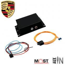 Interface auxiliaire PORSCHE - autoradios PCM 2.0 - PCM 2.1