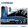 Interface Bluetooth AIRSTREAM universelle - Diffusez la musique de votre téléphone bluetooth sur n'importe quel autoradio