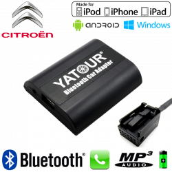Interface Kit mains libres Bluetooth et streaming audio CITROEN CAN