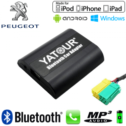 Interface Kit mains libres Bluetooth et streaming audio PEUGEOT 107