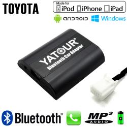 Interface Kit mains libres Bluetooth et streaming audio TOYOTA 2