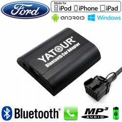Interface Kit mains libres Bluetooth et streaming audio FORD - connecteur 12pin