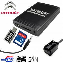 Interface USB MP3 CITROEN CAN