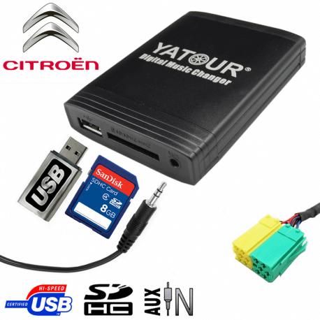 Interface USB MP3 CITROEN C1