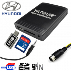 Interface USB MP3 HYUNDAI
