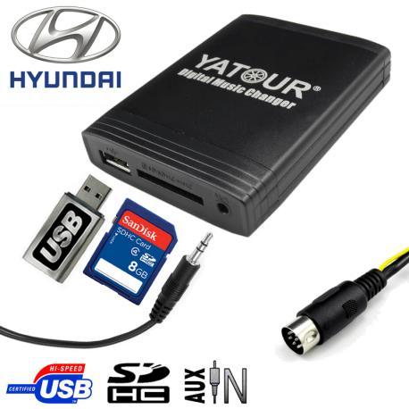 Interface USB MP3 HYUNDAI