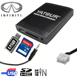 Interface USB MP3 INFINITI