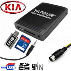 Interface USB MP3 KIA