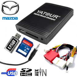 Interface USB MP3 MAZDA CAN BUS