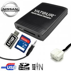 Interface USB MP3 NISSAN