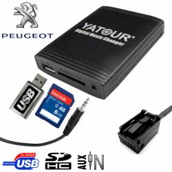 Interface USB MP3 PEUGEOT CAN