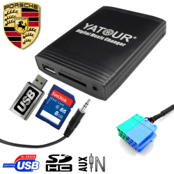 Interface USB MP3 PORSCHE