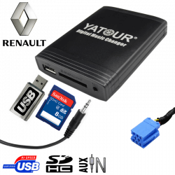 Interface USB MP3 RENAULT