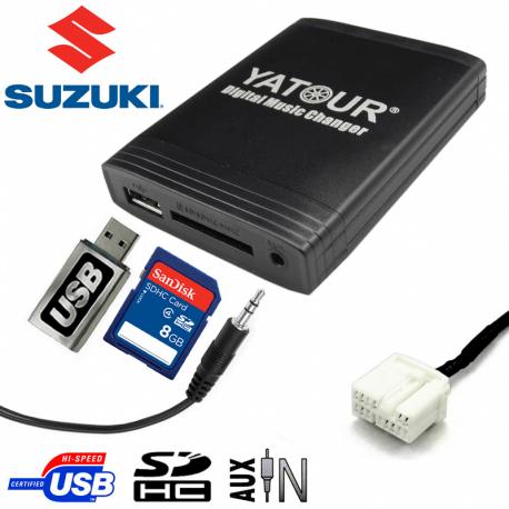 Interface USB MP3 SUZUKI 14pin
