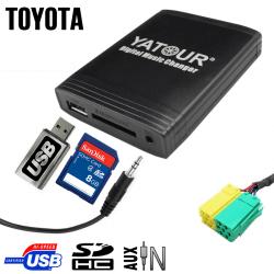 Interface USB MP3 TOYOTA 3