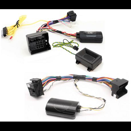 Interface commandes au volant - BMW série 1, 3, 5, 6, 7, Z4, X1 avec radar de stationnement et tonalités - CAN BUS