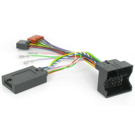 Interface commandes au volant - Ford C-Max, Focus, Mondéo, Fiesta, Fusion, Transit, Galaxy, S-Max connecteur quadlock sans +12v