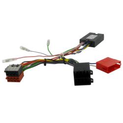 Interface commandes au volant - Porsche Cayenne à partir de 2002 avec connecteur Mini ISO - sans système amplifié - CAN BUS