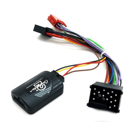 Interface commandes au volant - Rover 25, 45, 75 jusqu'à 2005 avec connecteur 17pin ronds