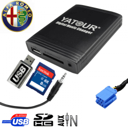 Interface USB MP3 ALFA ROMEO