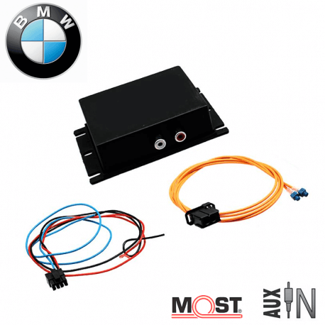 Interface auxiliaire BMW - autoradios iDrive Business, Professional, M-ASK et Professional Non iDrive