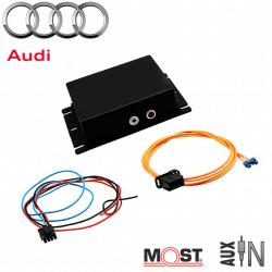 Interface auxiliaire AUDI - autoradios MMI3G Basic et High