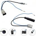 Adaptateur d'antenne pour interface universelle DIN sur autoradio HONDA et NISSAN