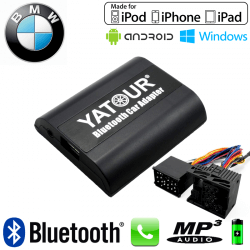 Interface Kit mains libres Bluetooth et streaming audio BMW1 - connecteur 17pin