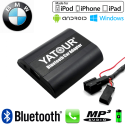 Interface Kit mains libres Bluetooth et streaming audio BMW4 - chargeur CD