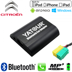 Interface Kit mains libres Bluetooth et streaming audio CITROEN C1