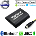 Interface Kit mains libres Bluetooth, streaming audio et recharge USB VOLVO HU