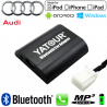 Interface Kit mains libres Bluetooth, streaming audio et recharge USB AUDI - connecteur 12pin