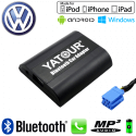 Interface Kit mains libres Bluetooth, streaming audio et recharge USB VOLKSWAGEN - connecteur 8pin