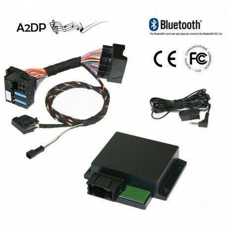 "FISCON Kit mains libres Bluetooth A4 8K, A5, Q5 ""Basic-Plus"""