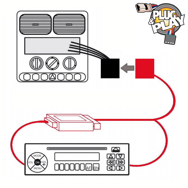 Pioneer Volant Télécommande Adaptateur Radio Volant Interface ALFA MITO GIULIETTA
