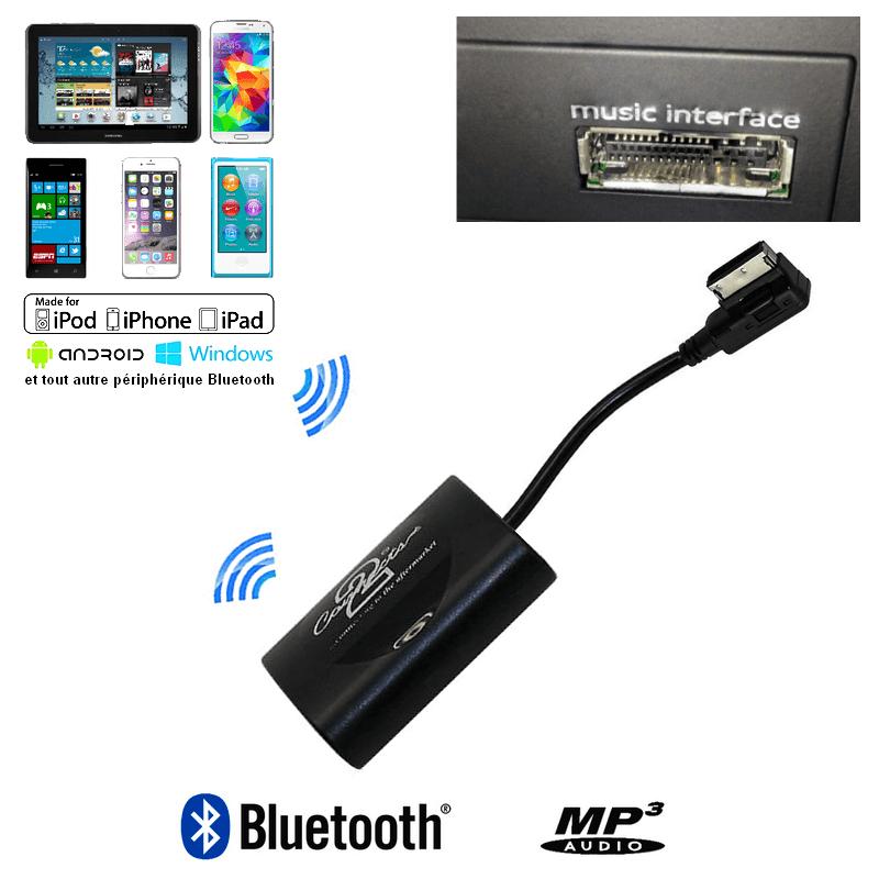 Interface Streaming Audio Bluetooth Audi Ami Mmi3g 224 Partir De 2009 Elec Auto