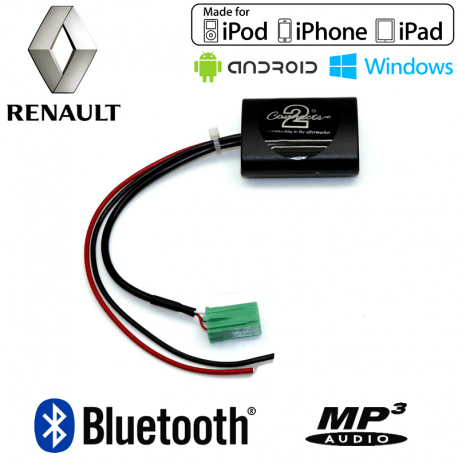 Interface streaming audio Bluetooth Renault