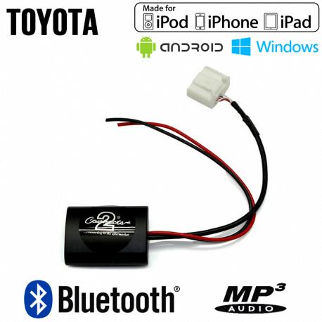 Interface streaming audio Bluetooth Toyota