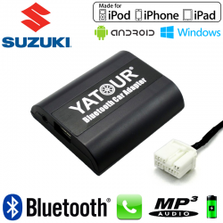 Interface Kit mains libres Bluetooth et streaming audio SUZUKI 14pin