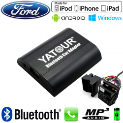 Interface Kit mains libres Bluetooth et streaming audio FORD - connecteur Quadlock