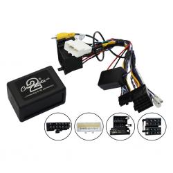 Interface commandes au volant CAN BUS - Hyundai ix35 avec Navigation, système amplifié et caméra