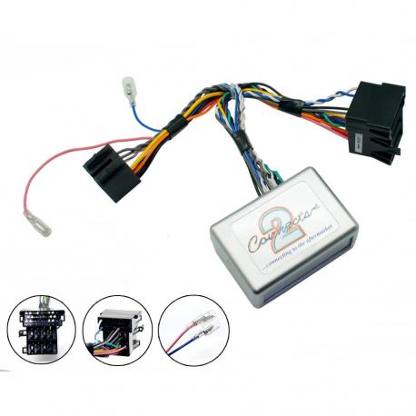 Interface commandes au volant - Kia Sorento, Soul, Cee'd, Carens avec système amplifié