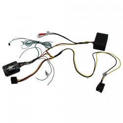 Interface commandes au volant CAN BUS - Mercedes Classe E W211, SLK R171, CLS W219 avec amplification fibre optique