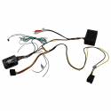 Interface commandes au volant - Mercedes Classe E W211, SLK R171, CLS W219 avec amplification fibre optique - CAN BUS